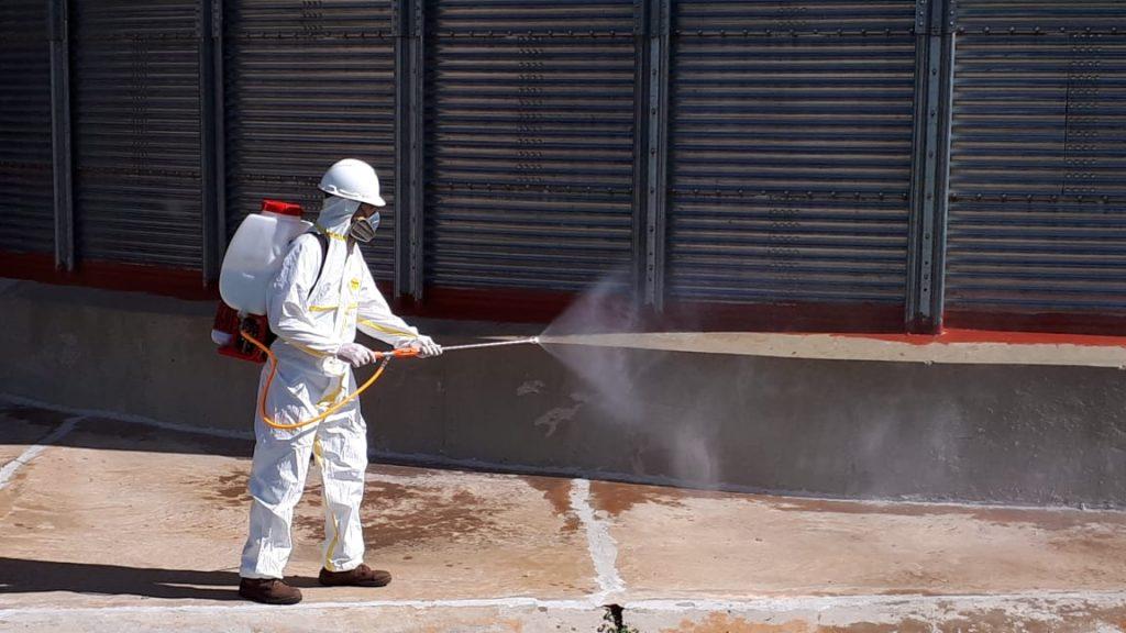Servicios de fumigación de silos